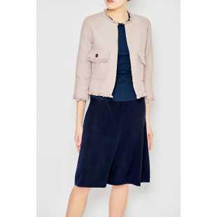 Женская однотонная юбка А-силуэта STEFANEL JG010DF1664.888