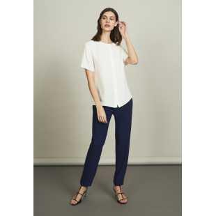 Блуза женская с короткими рукавами STEFANEL Y013CD73040.49
