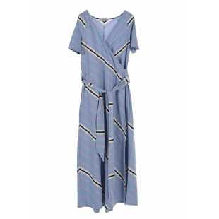 Длинное платье с коротким рукавом STEFANEL Y029VD56622.3724