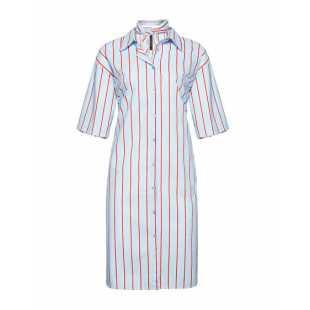 Платье женское MANILA GRACE P9JA110CI.AZZURRO/ROSSO