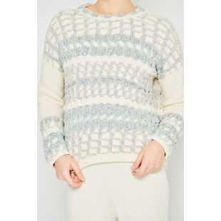 Женский свитер оверсайз STEFANEL JL010DF1289.4725