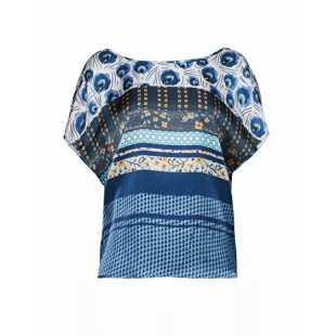 Блуза женская MANILA GRACE P9JC207VS.CELESTE