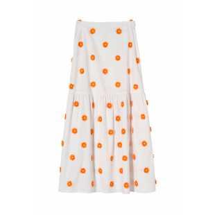Женская расклешенная юбка-макси STEFANEL JG018D71992.2165