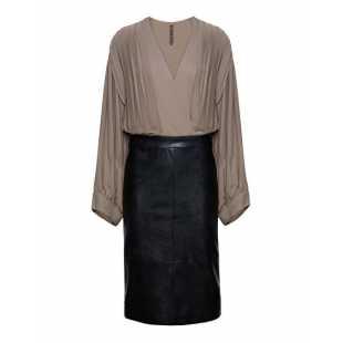 Платье женское MANILA GRACE I8JA178EU.NERO LAVAGNA