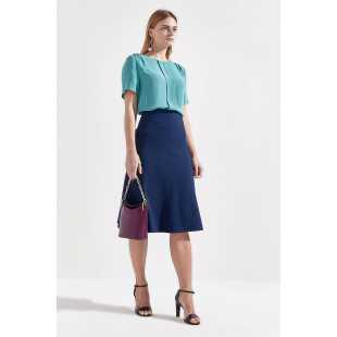 Блуза женская с короткими рукавами STEFANEL Y013CD73040.713
